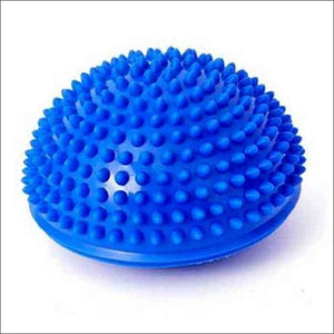 Open image in slideshow, Physical Fitness Yoga Half Ball - Blue - Fitness Balls