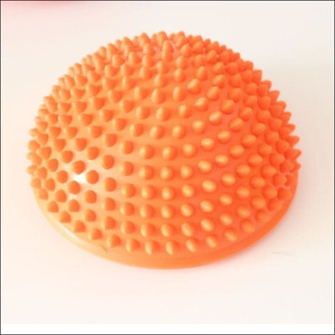 Image of Physical Fitness Yoga Half Ball - Orange - Fitness Balls
