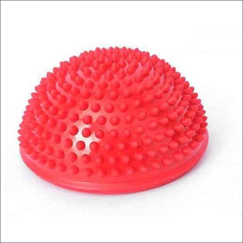 Image of Physical Fitness Yoga Half Ball - Red - Fitness Balls