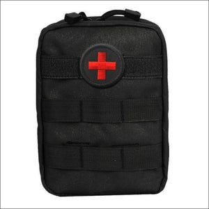 Portable Survival Tactical Emergency First Aid Bag - Dark Grey - First Aid Kits