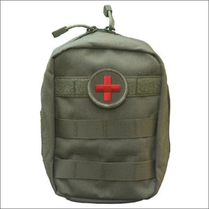 Portable Survival Tactical Emergency First Aid Bag - Lavender - First Aid Kits