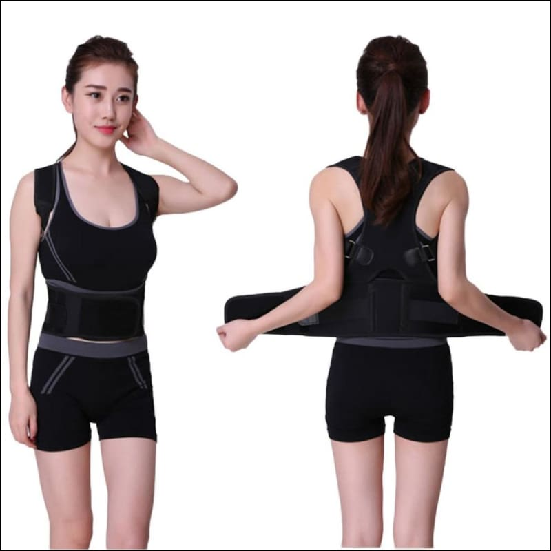 Posture Correction Waist Shoulder Chest Back Support - Braces & Supports