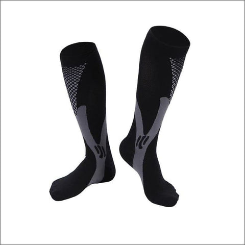 Image of Premium Compression Socks - A Black / Height 34Cm - Sock