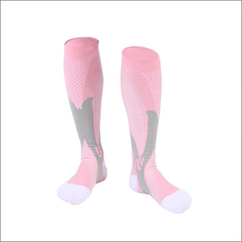 Image of Premium Compression Socks - C Pink / Height 34Cm - Sock