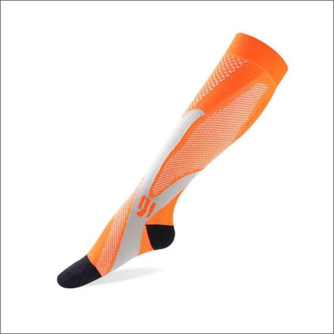 Premium Compression Socks - E Orange / Height 34Cm - Sock