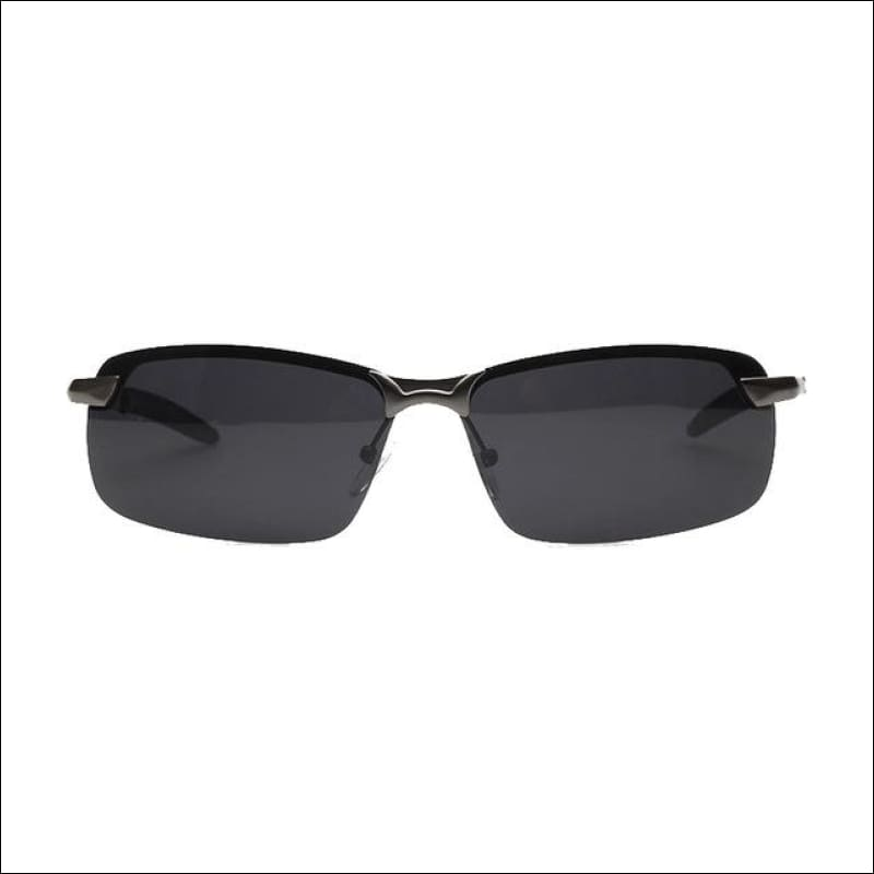 Professional Military Men Polarized Sunglasses - Grey Black - Eyewear