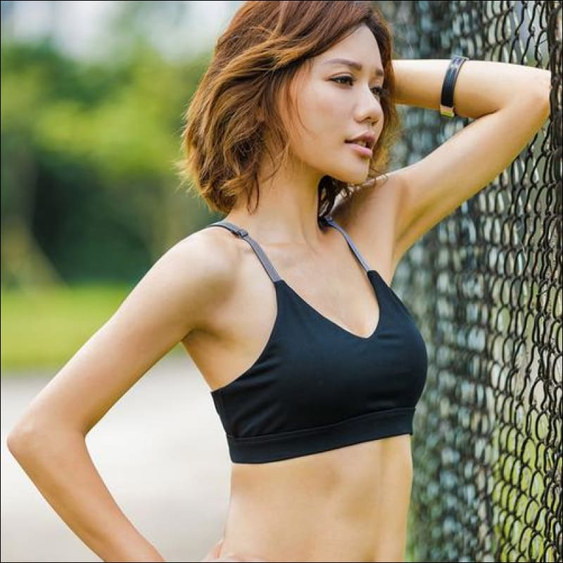 b41cbc7ae7 Professional Sports Bra Sexy Fitness Bras - Womens Clothing. Hover to zoom