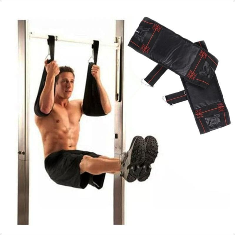 Pull Up Bar Ab Slings Straps Sports And Fitness - Barbell
