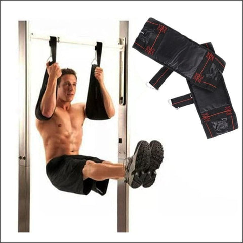 Image of Pull Up Bar Ab Slings Straps Sports And Fitness - Barbell