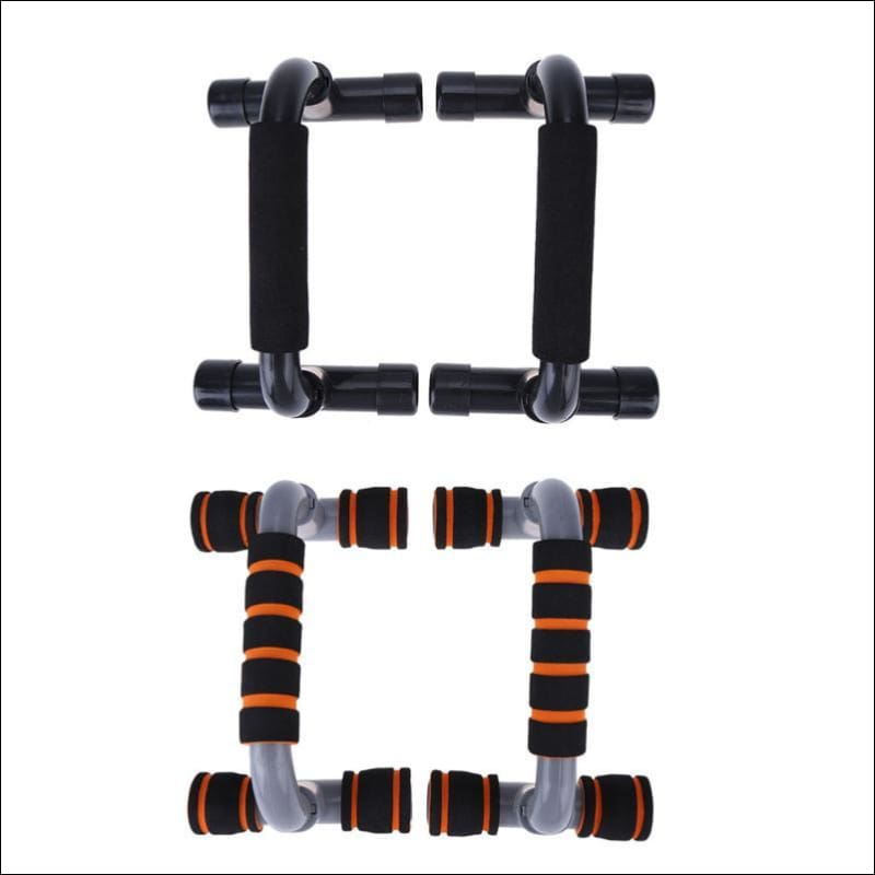 Push-Up Trainer W/ Sponge Bar - Push-Ups Stands