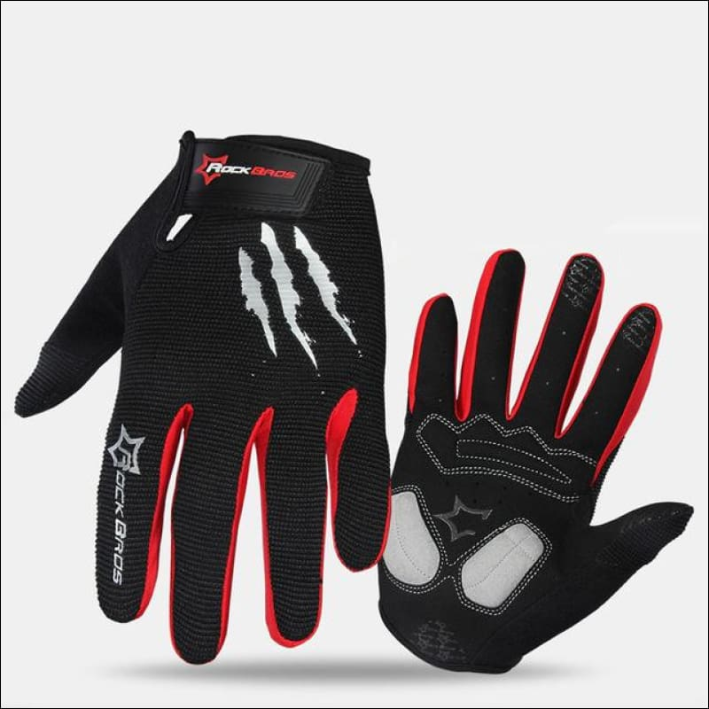 Rockbros Thermal Gloves - Black Red / L