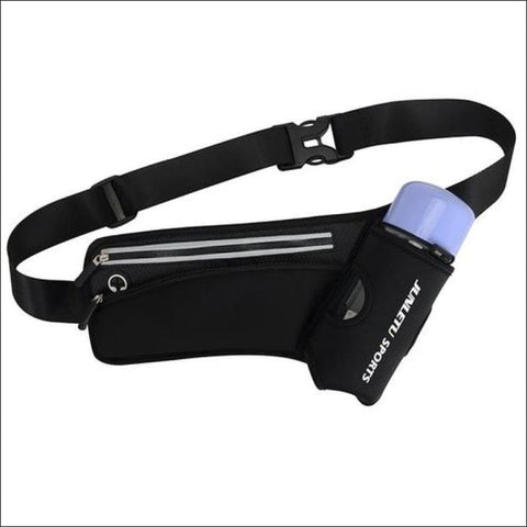 Image of Running Waist Pack Outdoor Sports Hiking - Black Color - Sports & Outdoor