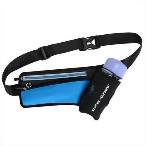 Image of Running Waist Pack Outdoor Sports Hiking - Blue Color - Sports & Outdoor