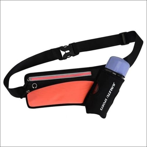 Running Waist Pack Outdoor Sports Hiking - Orange - Sports & Outdoor