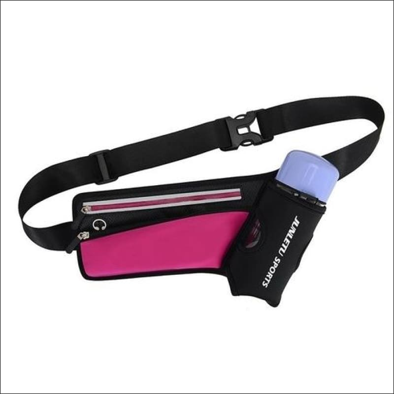 Running Waist Pack Outdoor Sports Hiking - Pink Color - Sports & Outdoor