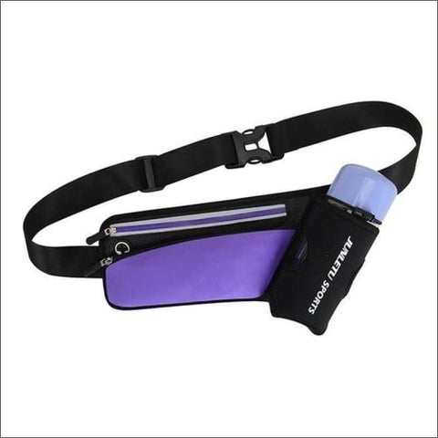 Image of Running Waist Pack Outdoor Sports Hiking - Purple Color - Sports & Outdoor