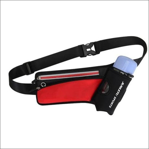 Image of Running Waist Pack Outdoor Sports Hiking - Red Color - Sports & Outdoor