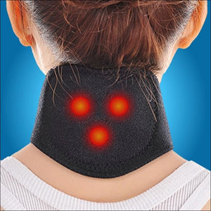 Self-Heating Magnetic Therapy Neck Guard - Massage & Relaxation