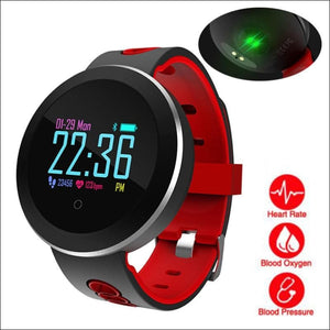 Smart Watch W/ Heart Rate Monitoring And Step Tracker - Digital Wristwatches