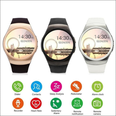 Image of Smartwatch W/android Support - On Wrist