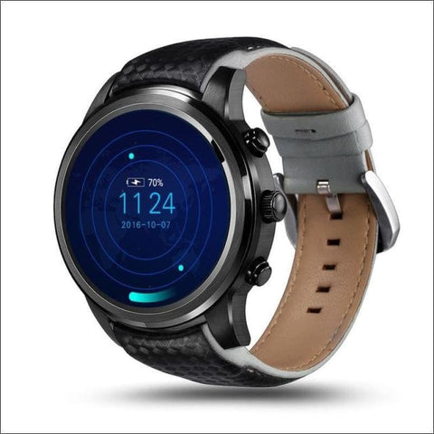 Image of Smartwatch W/gps And Sim Card Support - Black / China - On Wrist
