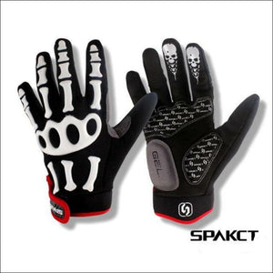 Spakct Skeleton Theme Full Finger Gloves