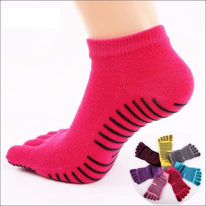 Sport Exercise Five Fingers Socks - Yoga Socks
