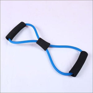 Stretch Yoga Training Crossfit Elastic Band - Blue - Resistance Bands