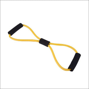Stretch Yoga Training Crossfit Elastic Band - Yellow - Resistance Bands