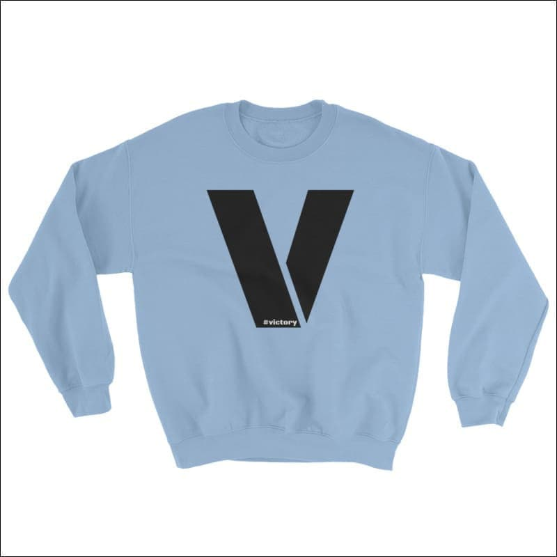 Sweatshirt - Light Blue / S