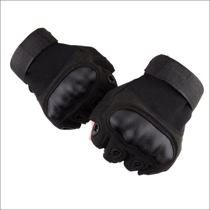 Tactical Military Style Half Finger Gloves