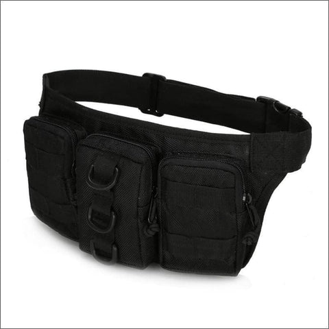 Tactical Waist Pack - Black