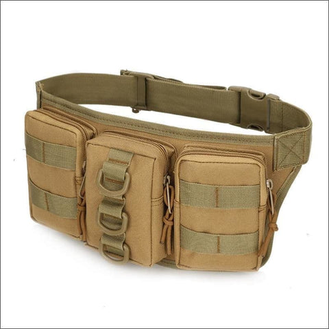 Tactical Waist Pack - Tan