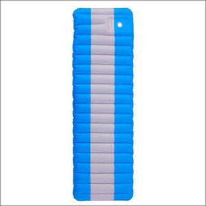 Ultralight Inflatable Mattress For Outdoor Camping. - Blue