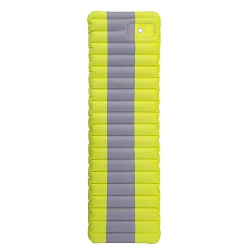Ultralight Inflatable Mattress For Outdoor Camping. - Green