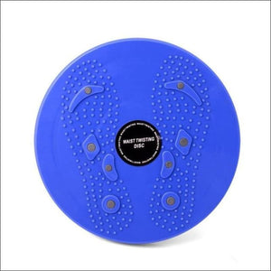 Open image in slideshow, Waist Twisting Disc Balance Board - Blue - Twist Boards
