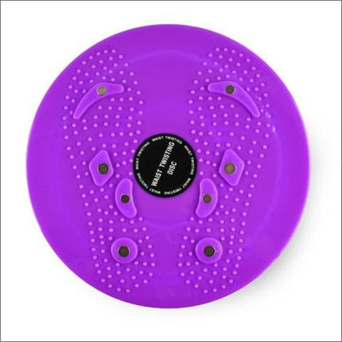 Image of Waist Twisting Disc Balance Board - Violet - Twist Boards