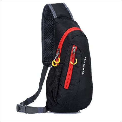Waterproof Outdoor Quick Travel Backpack - Black Color - Backpacks