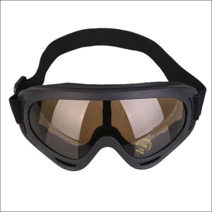 Winter Sport Goggles. - Gold - Eyewear