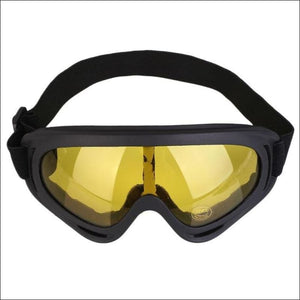Winter Sport Goggles. - Yellow - Eyewear