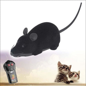 Open image in slideshow, Wireless Remote Control Mouse Electronic Toy - Black / Other - Electronic Toys