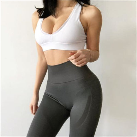Image of Women Yoga Pants Fitness Sports Leggings - Womens Clothing