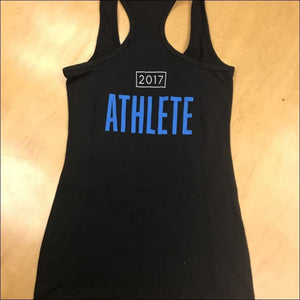 Womens Black Athlete 2017 Tank - Xs - Product