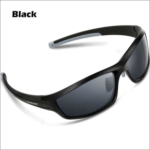 Womens Polarized Hiking Sunglasses - Black - Eyewear