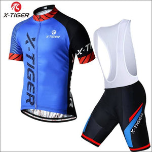 Open image in slideshow, X-Tiger 2018 Pro Cycling Jerseys Set Racing Bicycle Clothing - Bib Cycling Set / 3Xl
