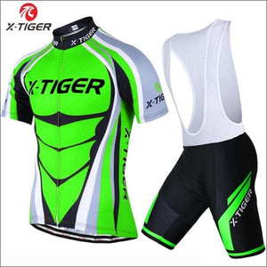 Open image in slideshow, X-Tiger 2018 Summer Cycling Set Mountain Bike Clothes - Bib Cycling Set / 3Xl - Cyclinggear