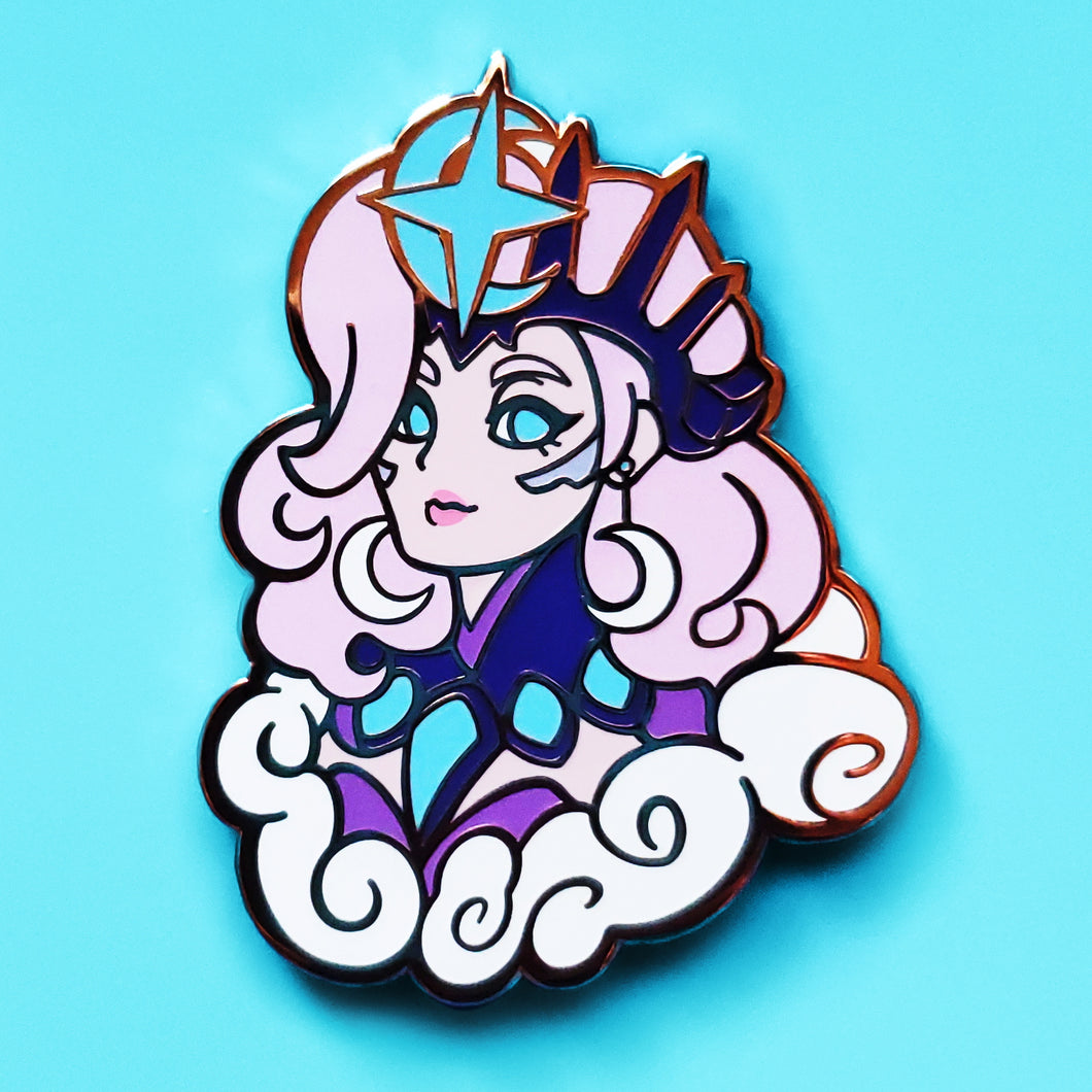 All Stars Mercy Enamel Pin