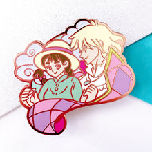 Load image into Gallery viewer, Howl & Sophie Enamel Pin
