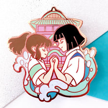 Load image into Gallery viewer, Chihiro & Haku Enamel Pin