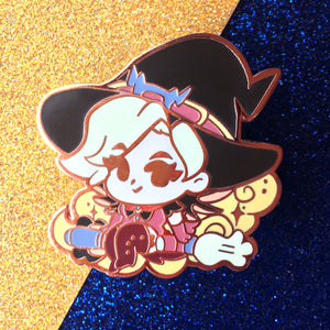 Chibi Witch Mercy Enamel Pin